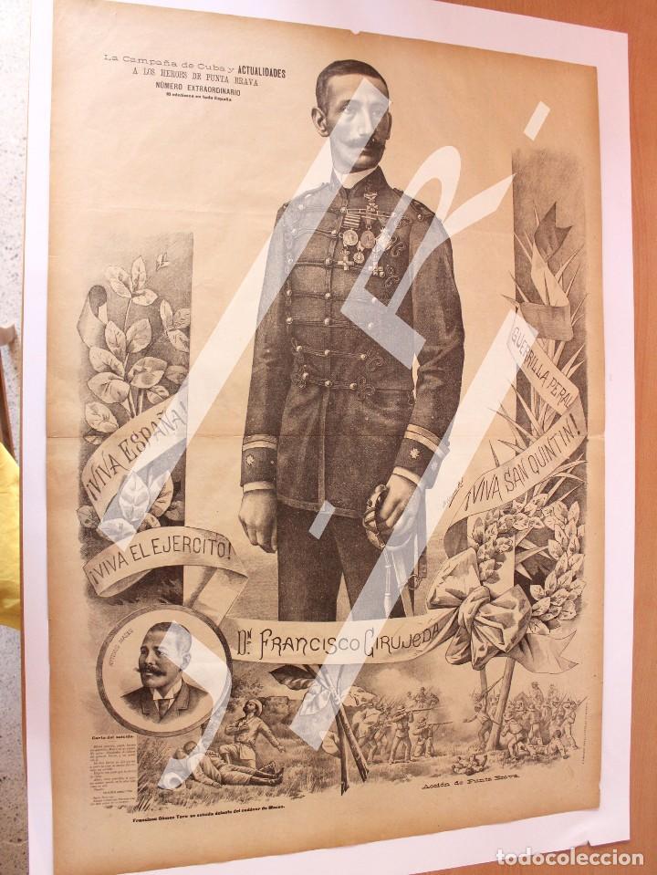 Coleccionismo de Revistas y Periódicos: Semanario La Campaña de Cuba y Actualidades. - Foto 13 - 146074642
