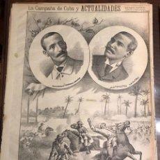 Coleccionismo de Revistas y Periódicos: SEMANARIO LA CAMPAÑA DE CUBA Y ACTUALIDADES.. Lote 146074642