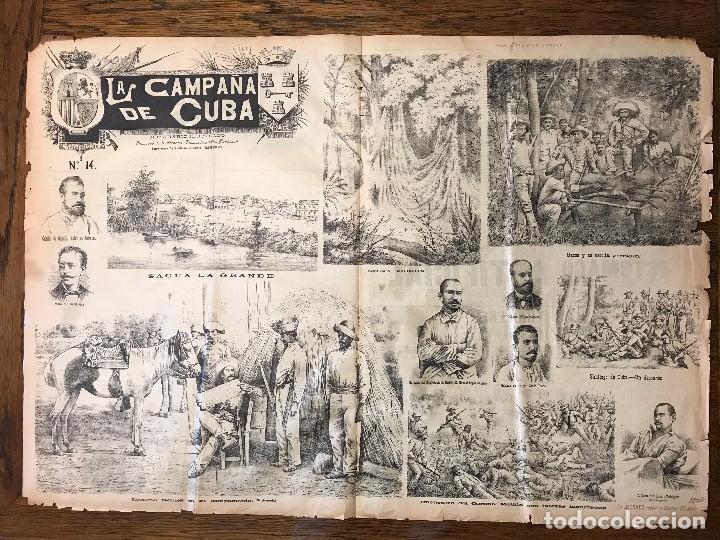Coleccionismo de Revistas y Periódicos: Semanario La Campaña de Cuba y Actualidades. - Foto 18 - 146074642