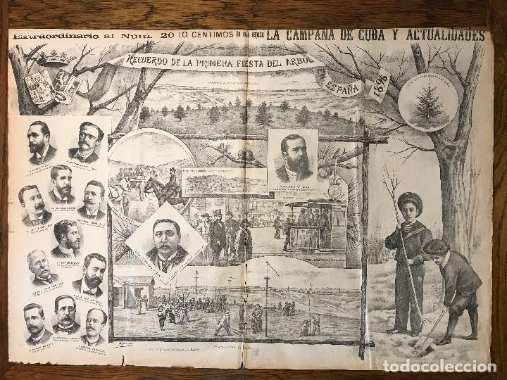 Coleccionismo de Revistas y Periódicos: Semanario La Campaña de Cuba y Actualidades. - Foto 19 - 146074642
