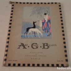Coleccionismo de Revistas y Periódicos: ART-GOÛT-BEAUTÉ Nº 53 - LUJOSA REVISTA DE MODA FRANCESA - TEXTO EN CASTELLANO - ENERO 1925. Lote 146115810