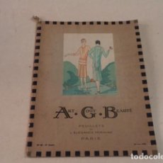 Coleccionismo de Revistas y Periódicos: ART-GOÛT-BEAUTÉ Nº 65 - LUJOSA REVISTA DE MODA FRANCESA - TEXTO EN CASTELLANO - ENERO 1926. Lote 146116438