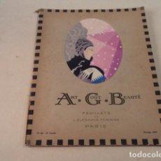 Coleccionismo de Revistas y Periódicos: ART-GOÛT-BEAUTÉ Nº 66 - LUJOSA REVISTA DE MODA FRANCESA - TEXTO EN CASTELLANO - FEBRERO 1926. Lote 146116674