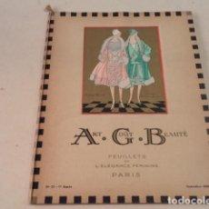 Coleccionismo de Revistas y Periódicos: ART-GOÛT-BEAUTÉ Nº 73 - LUJOSA REVISTA DE MODA FRANCESA - TEXTO EN CASTELLANO - SETIEMBRE 1926. Lote 146117010