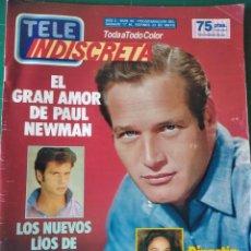 Coleccionismo de Revistas y Periódicos: TELEINDISCRETA - Nº 66 - 1986 -PAUL NEWMAN,FALCON CREST, DIANSTIA, TELE INDISCRETA. Lote 146231294