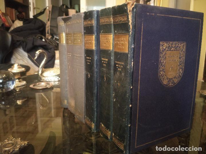 Coleccionismo de Revistas y Periódicos: REVISTA ACCIÓN ESPAÑOLA (COLECCIÓN COMPLETA ENCUADERNADA). 18 TOMOS, INCLUYENDO ANTOLOGÍA. - Foto 4 - 146239082