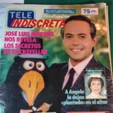 Coleccionismo de Revistas y Periódicos: TELEINDISCRETA - Nº 82- 1986 COMPLETA -JOSE LUIS MORENO, FALCON CREST, PEDRO OSINAGA. Lote 146292178