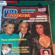 Coleccionismo de Revistas y Periódicos: TELEINDISCRETA - Nº 88- 1986 COMPLETA DIANSTIA, TOCATA, FUGAS DE COLDITZ, REMINGTON STEELE. Lote 146298414