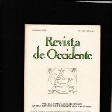 Coleccionismo de Revistas y Periódicos: REVISTA DE OCCIDENTE - Nº 103 / DICIEMBRE 1989. Lote 146333618
