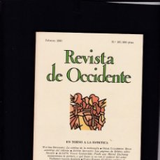 Coleccionismo de Revistas y Periódicos: REVISTA DE OCCIDENTE - Nº 105 / FEBRERO 1990. Lote 146333762