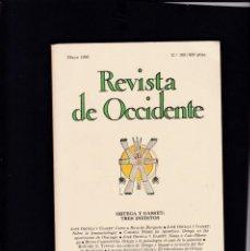 Coleccionismo de Revistas y Periódicos: REVISTA DE OCCIDENTE - Nº 108 / MAYO 1990. Lote 146334338