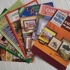 Coleccionismo de Revistas y Periódicos: LOTE REVISTAS PUNTO DE CRUZ. Lote 146398454