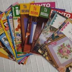 Coleccionismo de Revistas y Periódicos: LOTE REVISTAS DE PUNTO DE CRUZ. Lote 146399670