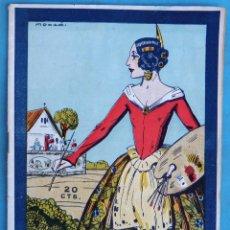 Coleccionismo de Revistas y Periódicos: REVISTA FALLERA, FALLAS DE VALENCIA , LA FALLA 1928 Nº 5 , MOLLA, LES FALLES , 1923 ,ORIGINAL, RF2. Lote 146543550