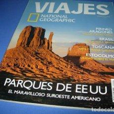 Coleccionismo de Revistas y Periódicos: INTERESANTE REVISTA DE VIAJES. NATIONAL GEOGRAPHIC. NUM. 53. PARQUES DE EEUU. Lote 146597306