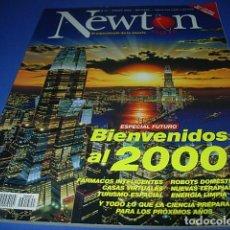 Coleccionismo de Revistas y Periódicos: REVISTA NEWTON, ENERO 2000: ESPECIAL FÚTURO, BIENVENIDOS AL 2000. Lote 146603238