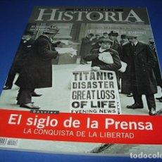 Coleccionismo de Revistas y Periódicos: LA AVENTURA DE LA HISTORIA, Nº 18, ABRIL 2000: EL SIGLO DE LA PRENSA, CASANOVA EN ESPAÑA, LA GUERRA. Lote 146603458