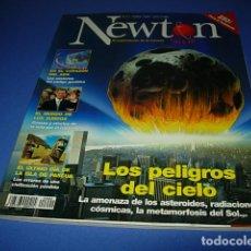 Coleccionismo de Revistas y Periódicos: REVISTA NEWTON Nº 2. JUNIO 1998. LOS PELIGROS DEL CIELO...RADIACIONES COSMICAS, ASTEROIDES.... Lote 146603650