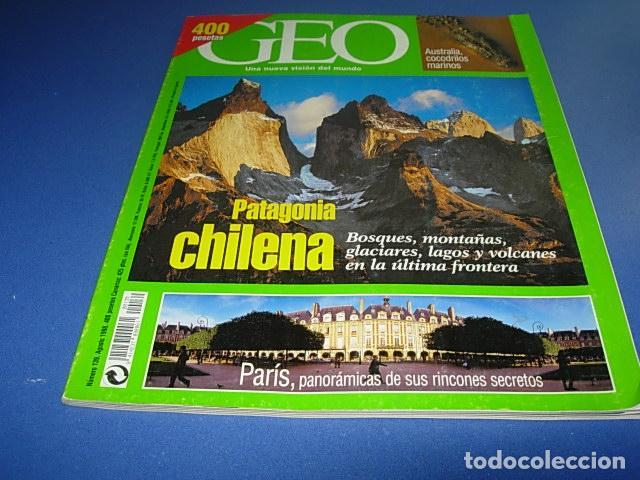 REVISTA GEO NÚMERO139. AGOSTO 1998 PATAGONIA CHILENA. PARIS (Coleccionismo - Revistas y Periódicos Modernos (a partir de 1.940) - Otros)