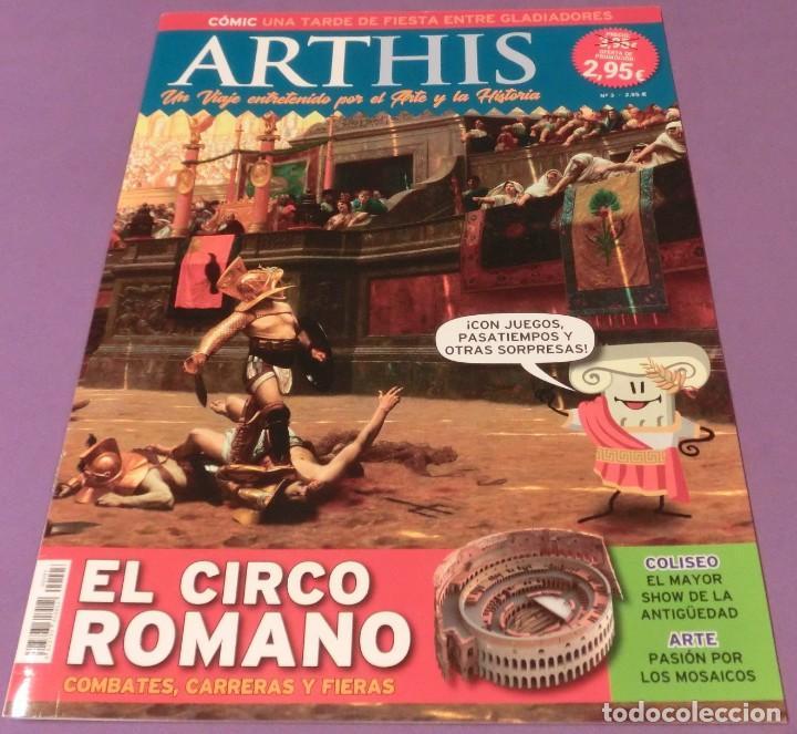 ARTHIS Nº 3 - EL CIRCO ROMANO (COMO NUEVA) (Coleccionismo - Revistas y Periódicos Modernos (a partir de 1.940) - Otros)