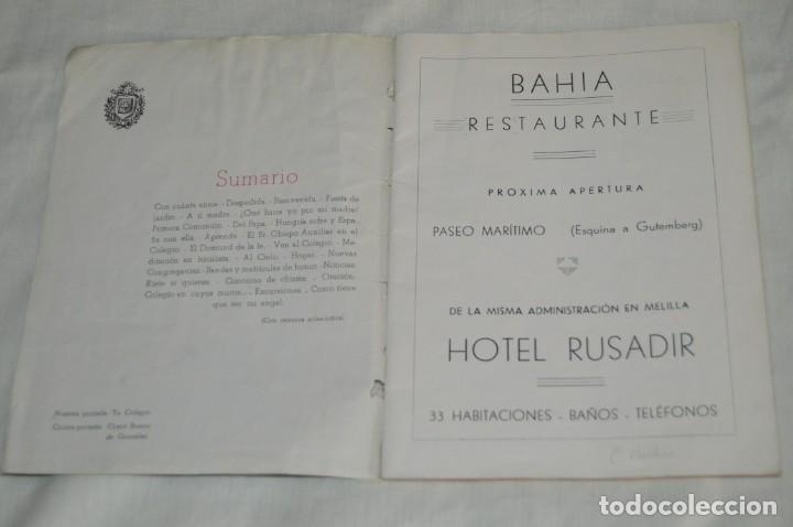 Coleccionismo de Revistas y Periódicos: ANTIGUA REVISTA EL MONTE - AÑO 1956 EN MÁLAGA - COLEGIO DE LA SAGRADA FAMILIA - VINTAGE - Envío 24h - Foto 4 - 146631770