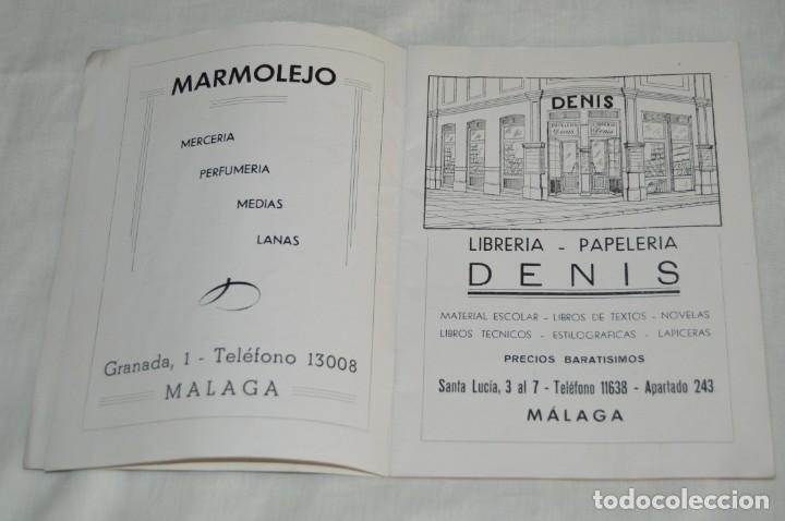 Coleccionismo de Revistas y Periódicos: ANTIGUA REVISTA EL MONTE - AÑO 1956 EN MÁLAGA - COLEGIO DE LA SAGRADA FAMILIA - VINTAGE - Envío 24h - Foto 5 - 146631770