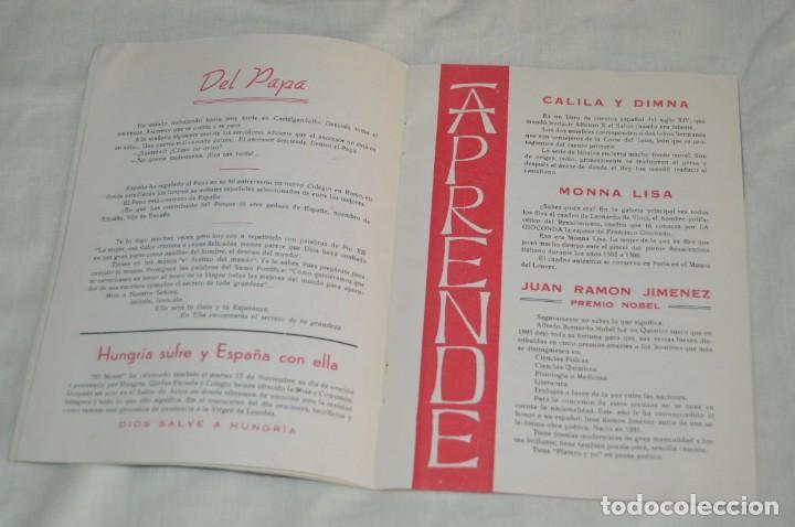 Coleccionismo de Revistas y Periódicos: ANTIGUA REVISTA EL MONTE - AÑO 1956 EN MÁLAGA - COLEGIO DE LA SAGRADA FAMILIA - VINTAGE - Envío 24h - Foto 8 - 146631770