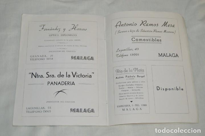 Coleccionismo de Revistas y Periódicos: ANTIGUA REVISTA EL MONTE - AÑO 1956 EN MÁLAGA - COLEGIO DE LA SAGRADA FAMILIA - VINTAGE - Envío 24h - Foto 9 - 146631770