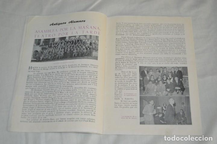 Coleccionismo de Revistas y Periódicos: ANTIGUO BOLETÍN INFORMATIVO DEL COLEGIO SANTA MARÍA DE LA VICTORIA, HH MARISTAS - VINTAGE - Envío24h - Foto 6 - 146632430