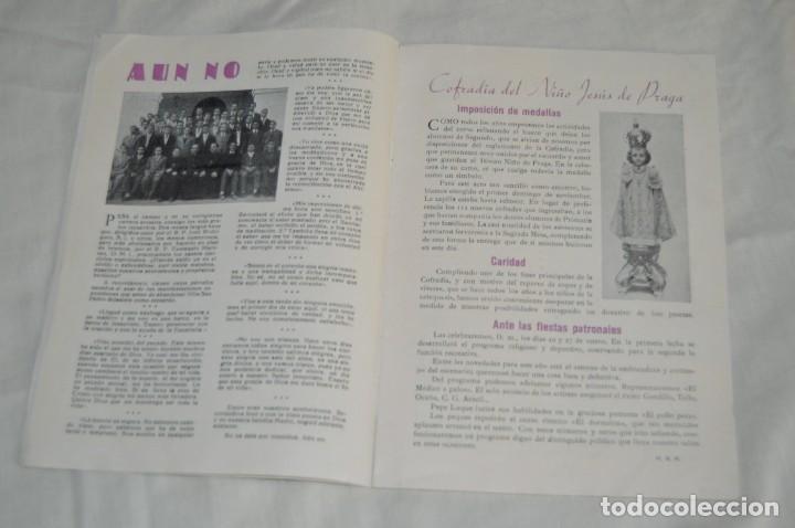 Coleccionismo de Revistas y Periódicos: ANTIGUO BOLETÍN INFORMATIVO DEL COLEGIO SANTA MARÍA DE LA VICTORIA, HH MARISTAS - VINTAGE - Envío24h - Foto 8 - 146632430