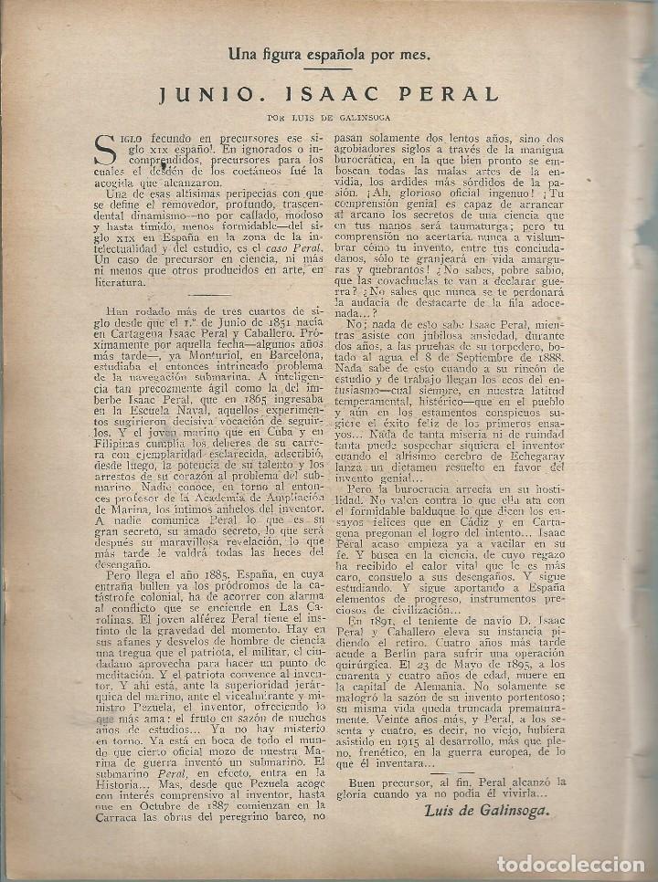 Coleccionismo de Revistas y Periódicos: BYN 1 ENE 1928.Nº 1911.SUELTOS: ISAAC PERAL LUIS DE GALINSOGA. MIGUEL A CALVO RESELLO. DIB MARCO - Foto 2 - 146683350