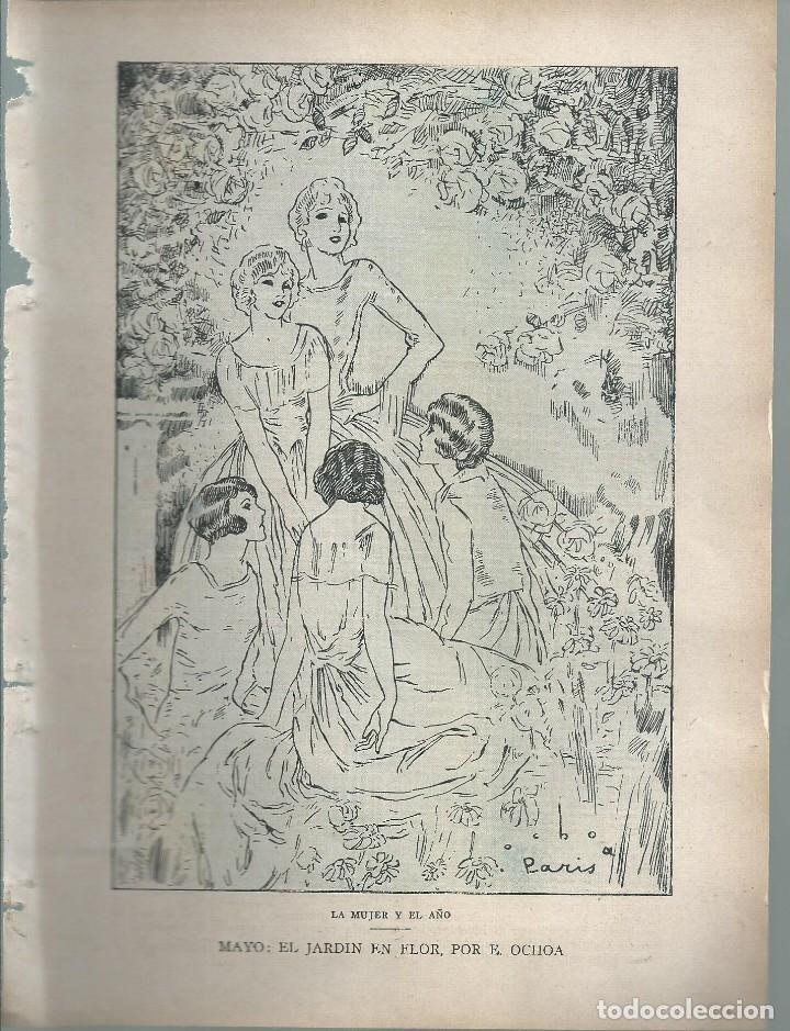 Coleccionismo de Revistas y Periódicos: BYN 1 ENE 1928.Nº 1911.SUELTOS: ISAAC PERAL LUIS DE GALINSOGA. MIGUEL A CALVO RESELLO. DIB MARCO - Foto 3 - 146683350