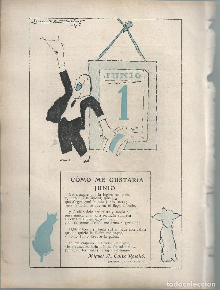 Coleccionismo de Revistas y Periódicos: BYN 1 ENE 1928.Nº 1911.SUELTOS: ISAAC PERAL LUIS DE GALINSOGA. MIGUEL A CALVO RESELLO. DIB MARCO - Foto 4 - 146683350
