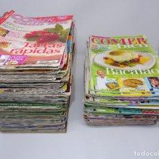 Coleccionismo de Revistas y Periódicos: LOTE DE 122 REVISTAS DE COCINA (48 COMER BIEN, 74 COMER CADA DÍA). Lote 146705238