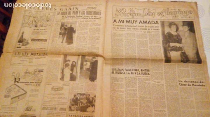 Coleccionismo de Revistas y Periódicos: TORERO FERMIN MURILLO FOTO JALON ANGEL AMANECER DIARIO ARGONES DEL MOVIMIENTO 11 OCTUBRE 1959 - Foto 12 - 146906674