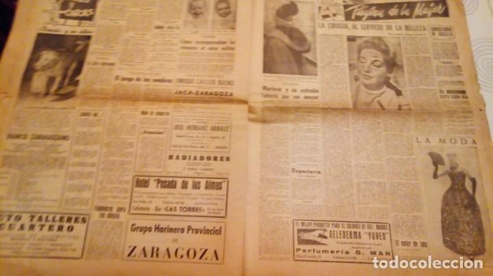 Coleccionismo de Revistas y Periódicos: TORERO FERMIN MURILLO FOTO JALON ANGEL AMANECER DIARIO ARGONES DEL MOVIMIENTO 11 OCTUBRE 1959 - Foto 14 - 146906674