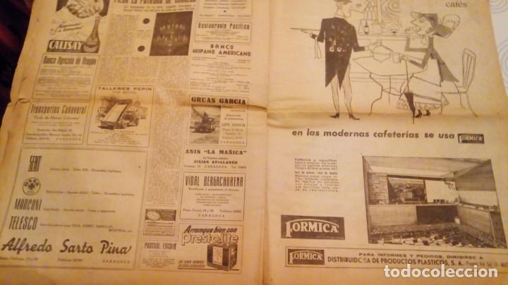 Coleccionismo de Revistas y Periódicos: TORERO FERMIN MURILLO FOTO JALON ANGEL AMANECER DIARIO ARGONES DEL MOVIMIENTO 11 OCTUBRE 1959 - Foto 15 - 146906674