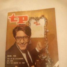 Coleccionismo de Revistas y Periódicos: TP TELEPROGRAMA N 769 -DEL 29 DICIEMBRE 1980 AL 4 ENERO 1981 - FELIZ AÑO. Lote 146956218