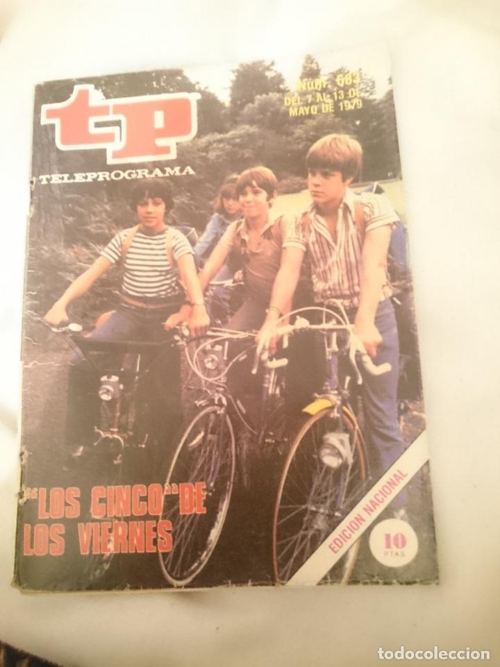 TP TELEPROGRAMA N 683 -DEL 7 AL 13 MAYO 1979 - LOS CINCO DE LOS VIERNES (Coleccionismo - Revistas y Periódicos Modernos (a partir de 1.940) - Otros)