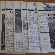 Coleccionismo de Revistas y Periódicos: FACSIMIL - DIARIO DE AYER - 9 EJEMPLARES - COLECCIÓN COMPLETA - PERFECTO ESTADO. Lote 147092854