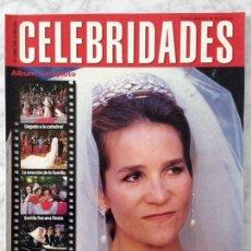Coleccionismo de Revistas y Periódicos: CELEBRIDADES - 1995 - BODA DE ELENA, WHOOPI GOLDBERG, MARÍA REYES, DEMI MOORE, SALMA HAYEK. Lote 89496240