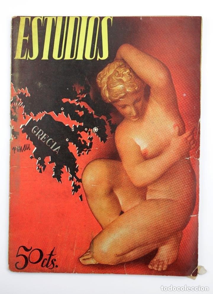 REVISTA ESTUDIOS, MAYO 1935, NÚM. 141, PORTADA DE JOSEP RENAU, VALENCIA. 19,5X26,5CM (Coleccionismo - Revistas y Periódicos Antiguos (hasta 1.939))