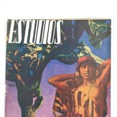 Coleccionismo de Revistas y Periódicos: REVISTA ESTUDIOS, SEPTIEMBRE 1935, NÚM. 145, PORTADA DE JOSEP RENAU, VALENCIA. 19,5X26CM. Lote 147139258