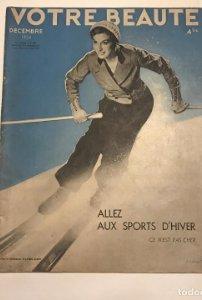 1934 Votre Beaute. Revista Francesa de belleza