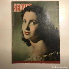 Coleccionismo de Revistas y Periódicos: REVISTA SEMANA. NUM 486 AÑO X . JUNIO 1949. Lote 147132538