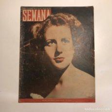 Coleccionismo de Revistas y Periódicos: REVISTA SEMANA. NUM 500 AÑO X. SEPTIEMBRE 1949. Lote 147134662