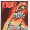 Coleccionismo de Revistas y Periódicos: REVISTA ESTUDIOS, DICIEMBRE 1936, NÚM. 159, PORTADA DE MANUEL MONLEÓN, VALENCIA. 19,5X26CM. Lote 147153010