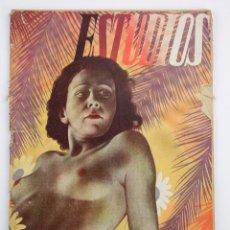 Coleccionismo de Revistas y Periódicos: REVISTA ESTUDIOS, JUNIO 1935, NÚM. 142, PORTADA DE MANUEL MONLEÓN, VALENCIA. 19,5X26,5CM. Lote 147155530