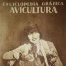 Coleccionismo de Revistas y Periódicos: AVICULTURA ENCICLOPEDIA GRÁFICA - MACARIO GOLFERICHS-LUIS G. MANEGAT - BARCELONA 1930. Lote 116425483