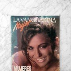 Coleccionismo de Revistas y Periódicos: LA VANGUARDIA - 1986 - LYDIA BOSCH, ELSA PERETTI. Lote 147192172